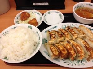 【211】パパの夕飯の風景